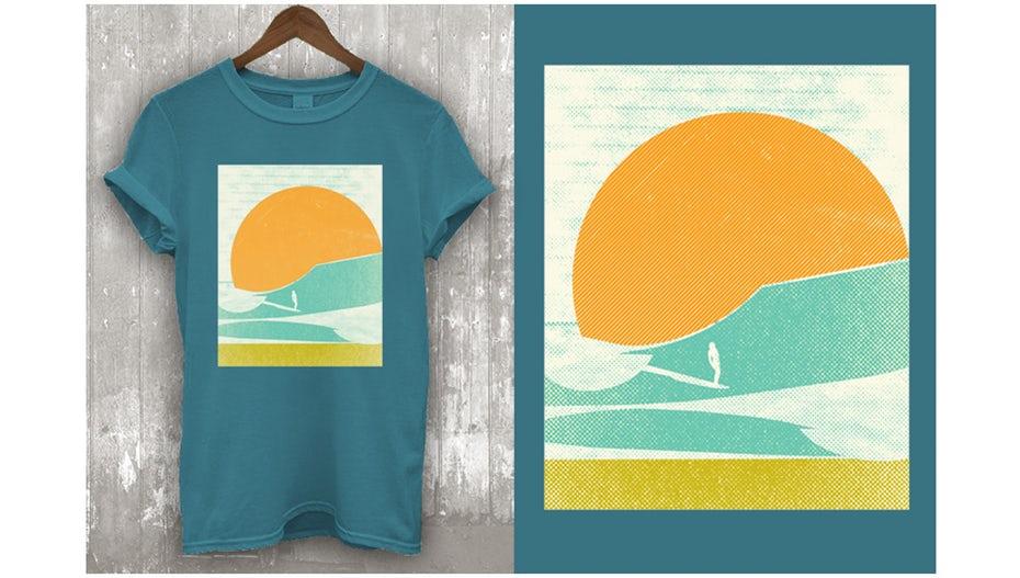 """Нео-минималистичный дизайн футболки """"width ="""" 960 """"height ="""" 544"""