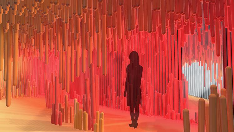 """take-the-plunge """"width ="""" 750 """"height ="""" 422 """"/>    <figcaption> Рендеринг для Take the Plunge </figcaption></figure> <p> На Oxo Tower Wharf, дизайн-студия Согласно Creative Festival, Volume Creative установил «Игривую инсталляцию Take the Plunge», вдохновленную «любовью к морю». </p> <p> Хотя точные детали до сих пор неясны, посетителям предлагается «погрузиться в новый опыт», который обещает «запечатлеть радостные элементы океанического путешествия» с помощью «мультисенсорных методов». </p> <p> Фестиваль также объявил основных докладчиков для своего Глобального форума дизайна, который включает модельера Вивьен Вествуд, который обсуждает важность активизма в проектировании устойчивого будущего. </p> <p> Клэр Бергкамп, всемирный директор по устойчивому развитию и инновациям в Stella McCartney, и Астрид Ставро, графический дизайнер и партнер Pentagram, также выступают. </p> <p> Фестиваль проходит с 14-22 сентября. Более подробную информацию об установках можно найти здесь и здесь. </p> <footer> </footer> </p></div> </pre>  <span class="""