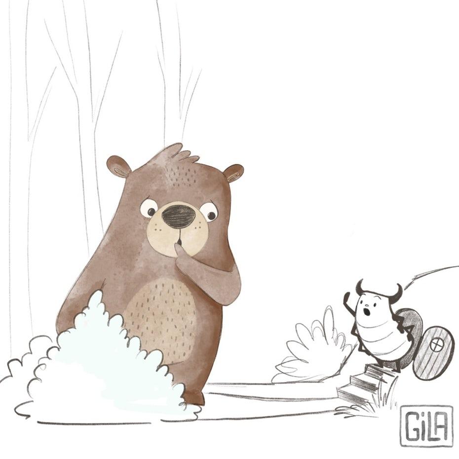 """медведь разговаривает с ошибкой """"width ="""" 960 """"height ="""" 960 """"/>    <figcaption> Персонажи-покупатели помогают вам понять свою аудиторию, прежде чем обратиться к ней. Иллюстрация Кросс Лайм. </figcaption></figure> <p> Поставьте себя на место клиента. Как только вы сможете представить себе, кто такой человек, вы можете сделать некоторые предположения о том, что им понравится. </p> <ul> <li> Создать повествование: Где этот человек делает покупки? Что читает этот человек? На каких каналах вы можете их найти? </li> <li> Получить конкретный. Что им нужно? Каковы их предпочтения? Как вы можете оправдать (или превзойти) их ожидания? <ul> <li> Пример клиента: 26-летний Тревор ценит опыт, а не вещи. У него нет машины. Он «экспрессионист», который предпочитает покупать уникальные вещи и не хочет выглядеть как все. </li> </ul> </li> <li> Проводите исследования с помощью аналитических служб. </li> </ul> <p> Чтобы углубиться в этот шаг, взгляните на наш пост: Как создать персону пользователя. </p> <h3> 5. Найдите своих клиентов на воронке </h3> <p> Затем вам нужно найти своих клиентов на разных этапах воронки. По всей вероятности, на всех этапах воронки будут клиенты, открытые для связи с вами. </p> <figure data-id="""