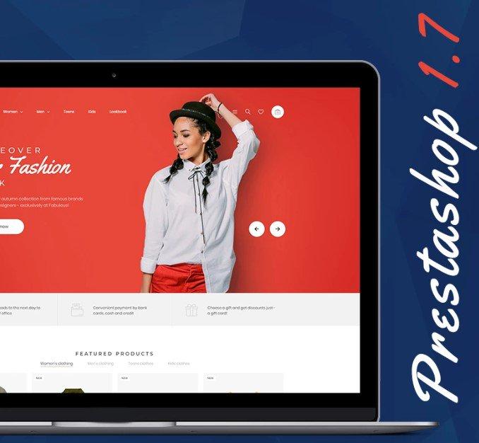 Nextprest — Бесплатный PrestaShop шаблон на Bootstrap