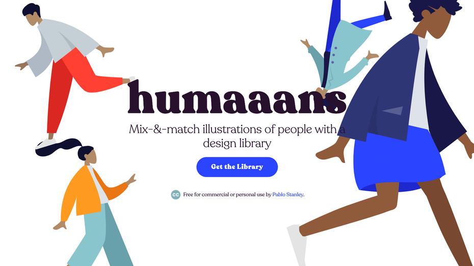 """женщина в синей бегущей иллюстрации """"width ="""" 2562 """"height ="""" 1442 """"/>    <figcaption> Humaaans — это библиотека дизайнерских иллюстраций людей со смешанным сочетанием </figcaption></figure> <p> Это уникальный инструмент, созданный Пабло Стэнли, который позволяет настраивать иллюстрации людей в различных контекстах. </p> <p> <strong> Цены: бесплатно   Посетите humaaans.com </strong> </p> <h4> Vexels </h4> <figure data-id="""