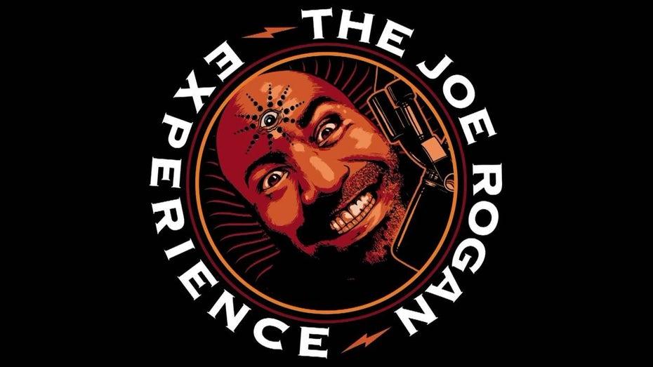 "Экспрессионистский логотип Джо Рогана ""width ="" 1280 ""height ="" 720"