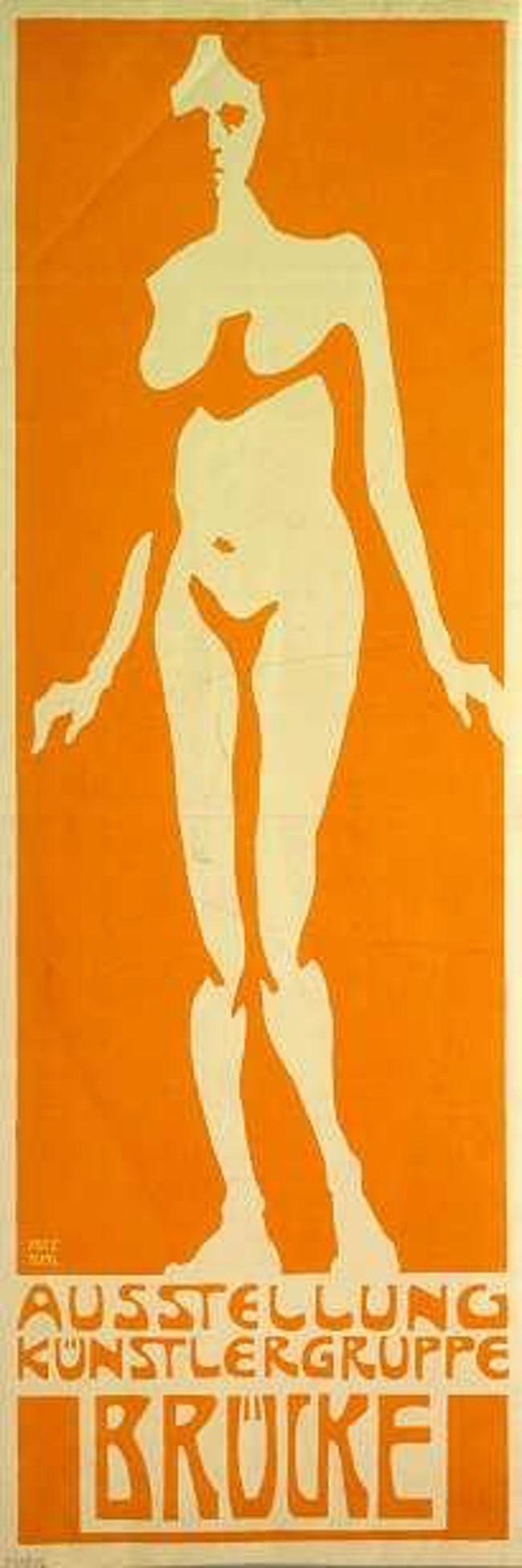 "плакат экспрессионизма Фрица Блэйла ""width ="" 650 ""height ="" 1953"
