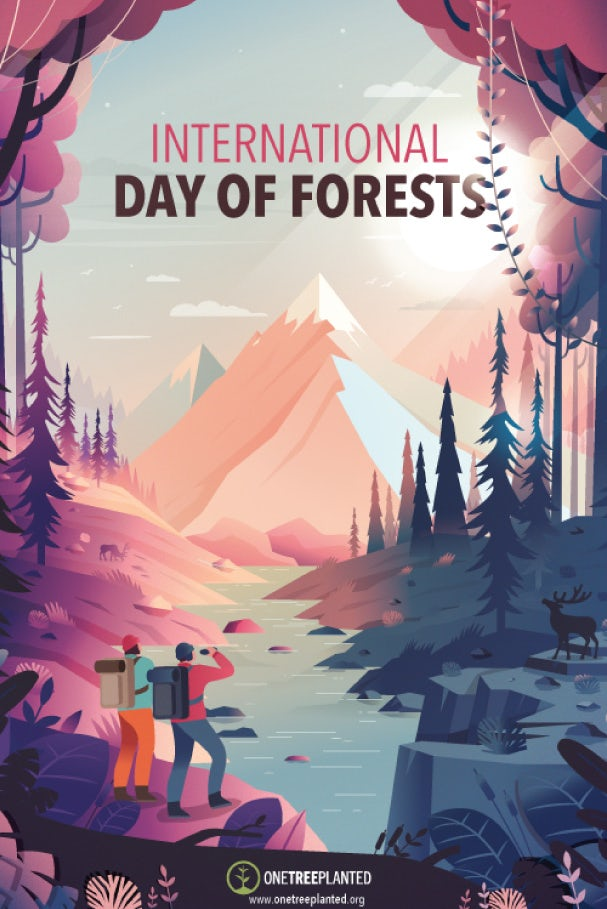 Плакат Международного дня лесов