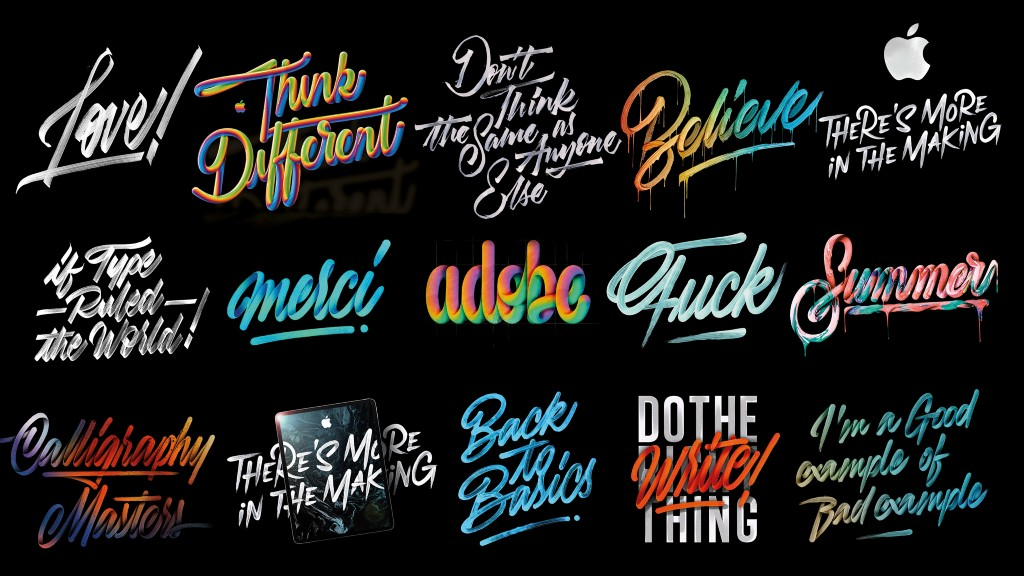 Lettering collection vol.9