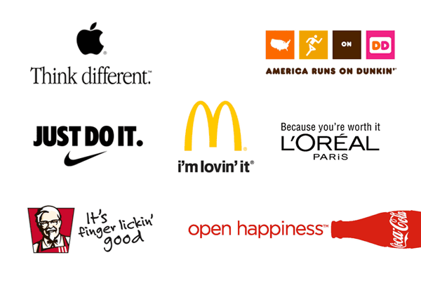 best examples of slogans