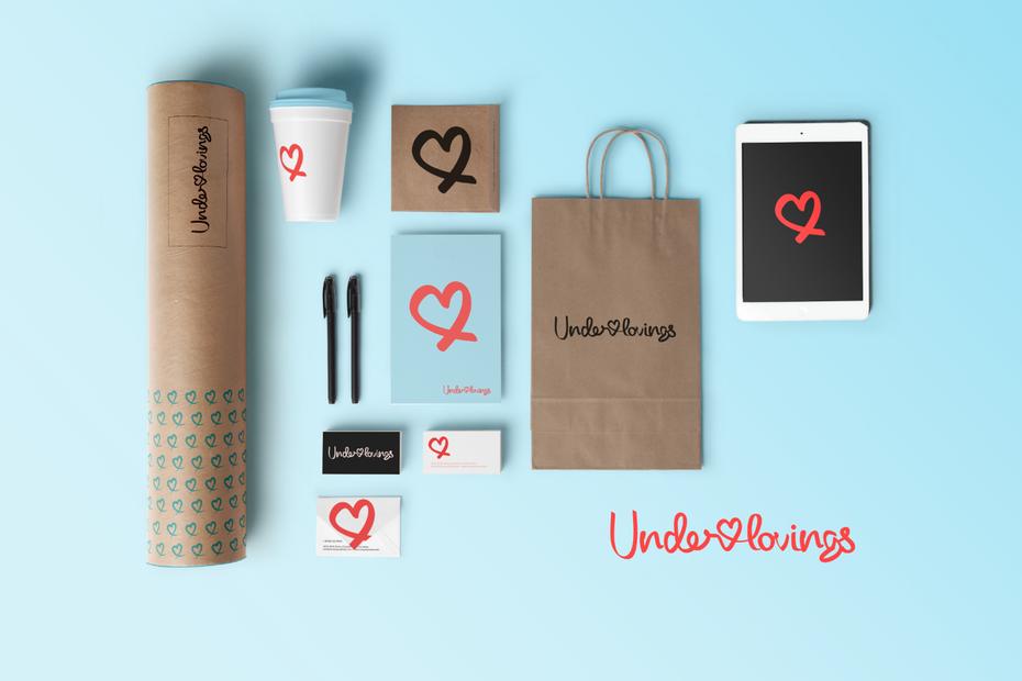 Дизайн логотипа Underlovings