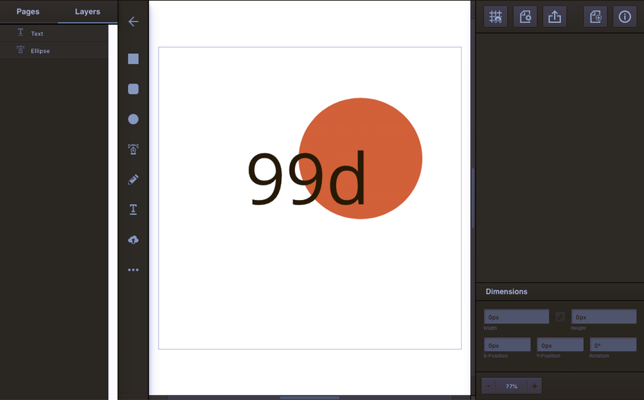 Vectr 99designs design