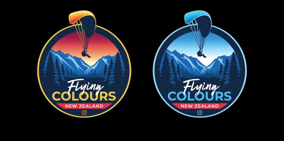"""Flying Colours logo """"width ="""" 1000 """"height ="""" 497 """"/>    <figcaption> Дизайн логотипа fight4ward </figcaption></figure> <p> Посмотрите на логотип Flying Colors, парапланеризм Компания Flying Colours ориентирована в основном на искателей приключений и экстремальных атлетов, группы, которые склонны ценить пейзажи, подобные фону логотипа. </p> <figure data-id="""