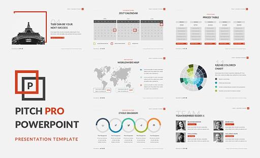 Pitch Pro — шаблон PowerPoint презентации