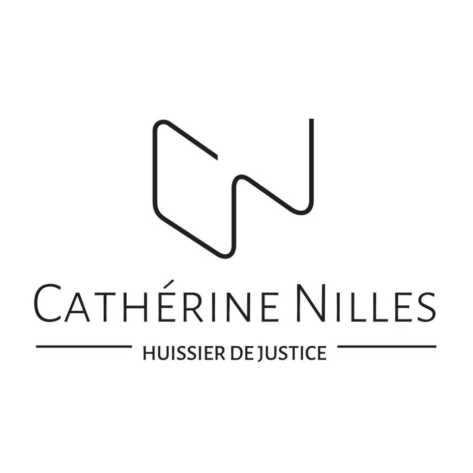 визитная карточка и логотип catherine nilles law