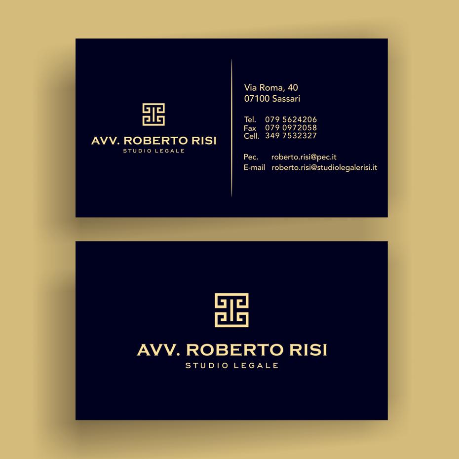 золотой черный греческий символ визитная карточка