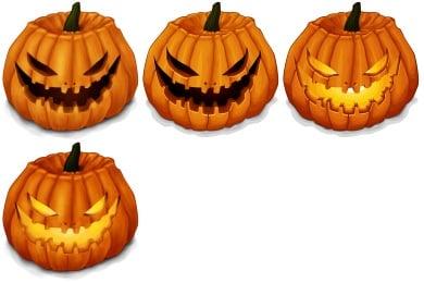 Halloween Pumpkins Icons