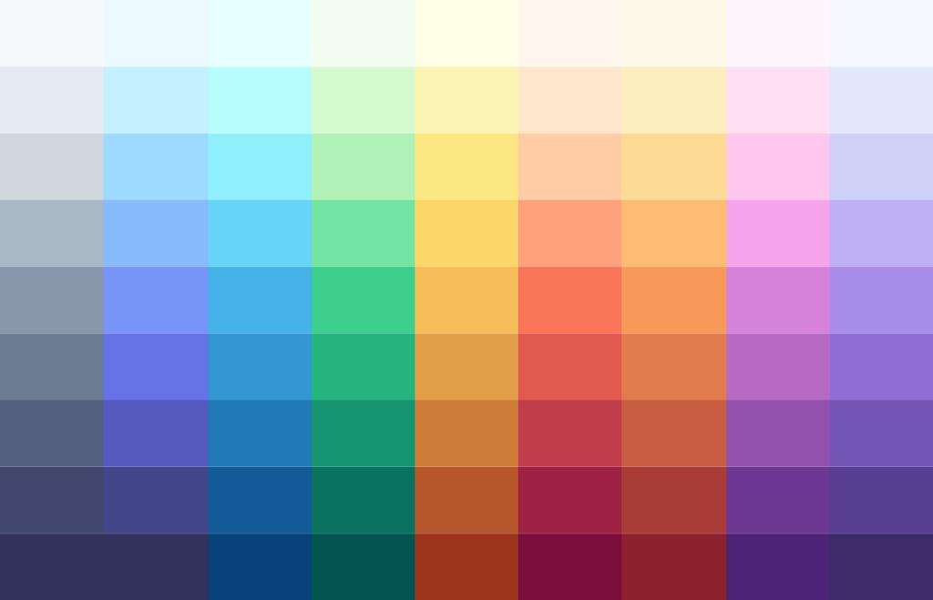 Проектирование доступных цветовых систем