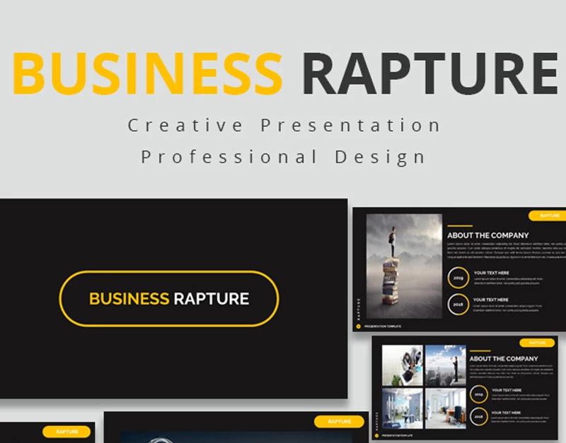 Business Rapture — Шаблон Google Slides презентации