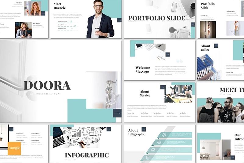 Doora — Шаблон Google Slides презентации