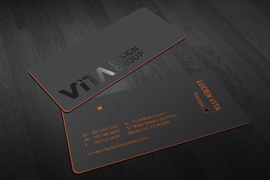 """Пример тенденций развития визитных карточек 2020: визитная карточка с ярким краем """"width ="""" 1427 """"height ="""" 952"""