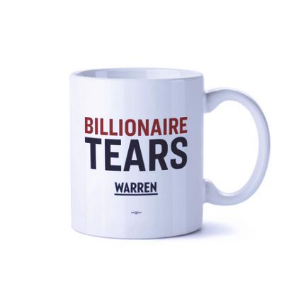 Кружка «Миллиардер Слез» из президентской кампании Элизабет Уоррен 2020