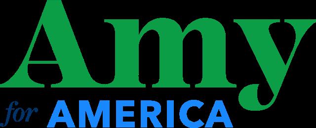 Логотипы кандидатов в президенты 2020 года: Эми Клобучар.