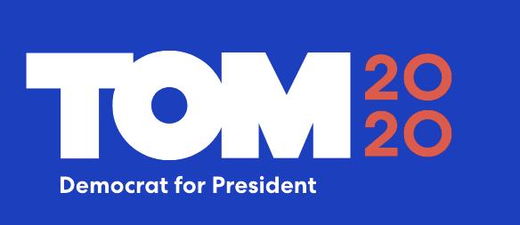Логотипы кандидатов в президенты 2020 года: Том Стейер