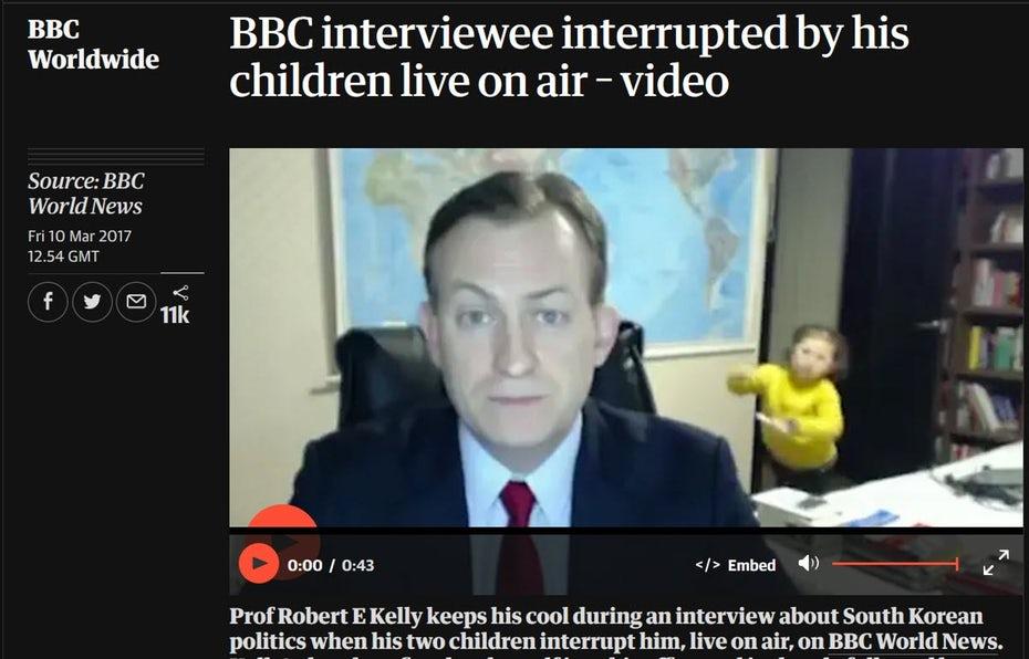 Видео BBC