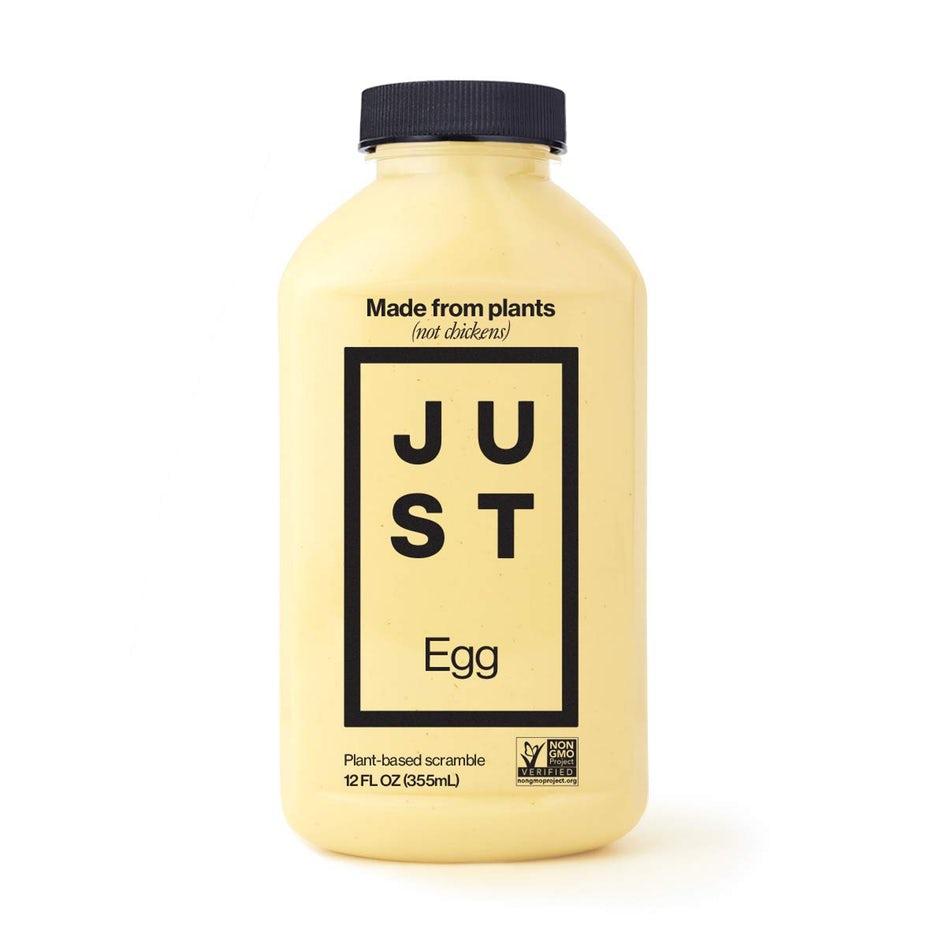 Замена желтой бутылки на растительной основе