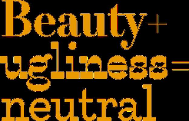 """красивые и некрасивые варианты шрифта шрифта Karloff желтого цвета """"width ="""" 624 """"height ="""" 400 """"/>    <figcaption> Когда мы видим баланс, мы видим красоту. Когда мы видим дисбаланс, мы видим уродство и когда шрифт полностью нейтральный, он читается как где-то посередине: через Питера Билака </figcaption></figure> <p> Все это означает, что вес шрифта — расположение его более толстых линий — распределяется таким образом, чтобы похоже, что он не опрокинулся бы, если бы это был материальный объект. </p> <p> Возьмите три варианта Карлоффа, изображенного здесь, светильник типографии шрифта Питера Билака, разработанный для проверки его гипотезы о том, что распределение веса шрифта определяет, считаем ли мы его уродливым или красивым. Худшие шрифты несбалансированы, что делает их некрасивыми. </p> <h3><span id="""