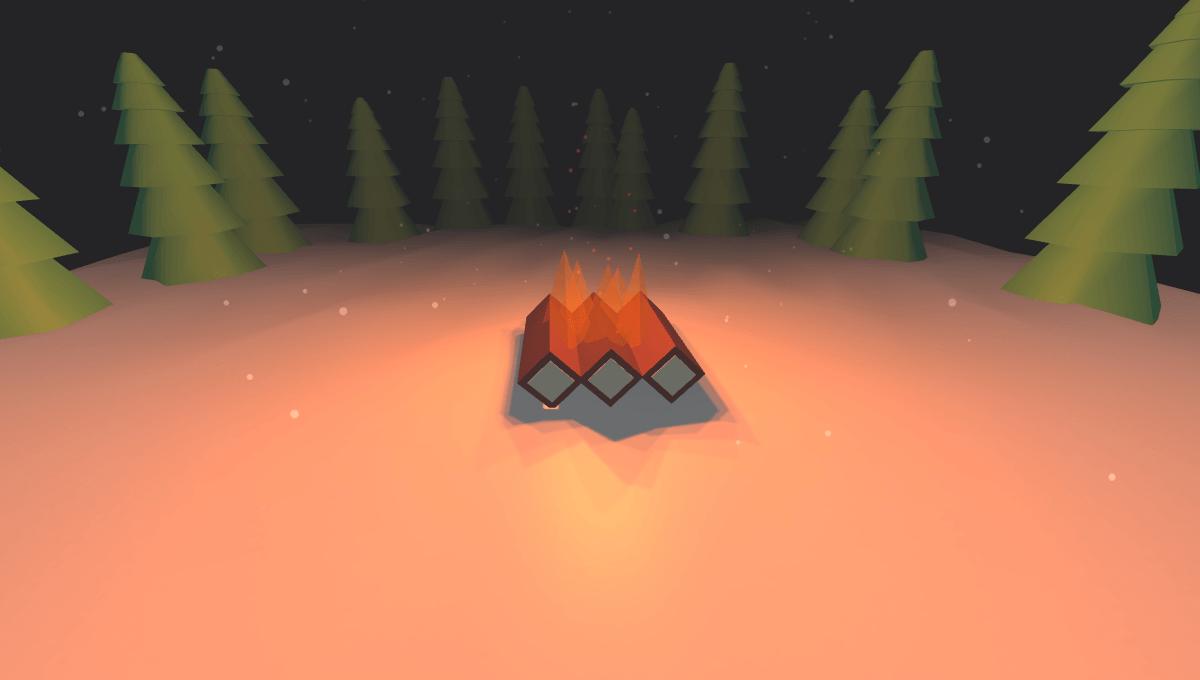 """Демонстрационное изображение: 3D Campfire """"title ="""" 3D Campfire """"/> </figure> <p></p> <h4 class="""
