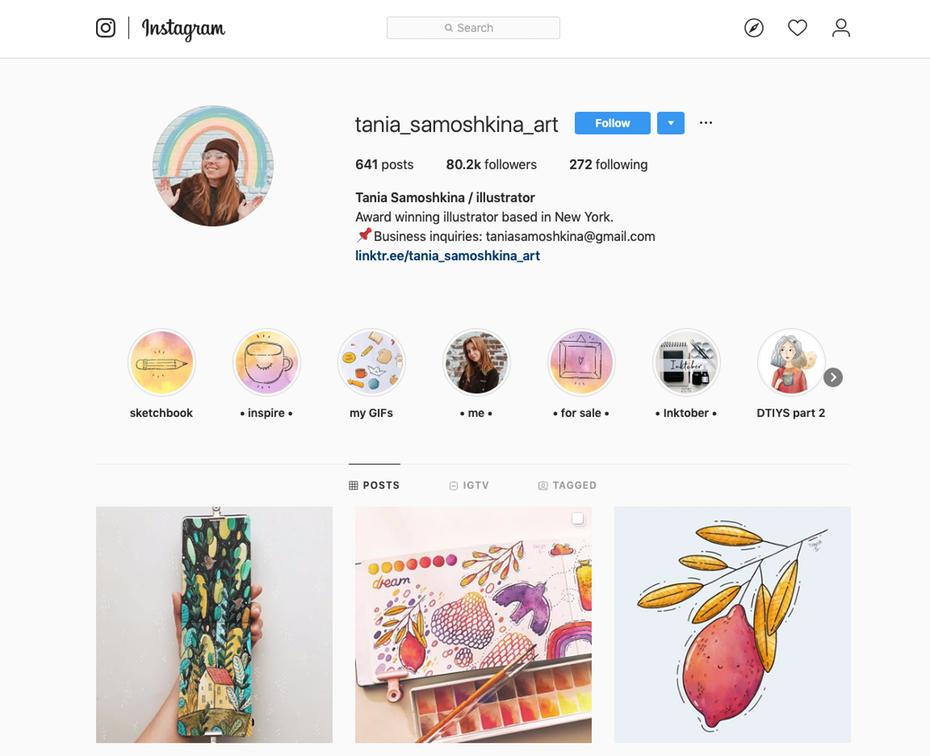 """Скриншот страницы Instagram графического дизайнера """"width ="""" 1152 """"height ="""" 937 """"/>    <figcaption> Instagram telinunu </figcaption></figure> <h4><span id="""