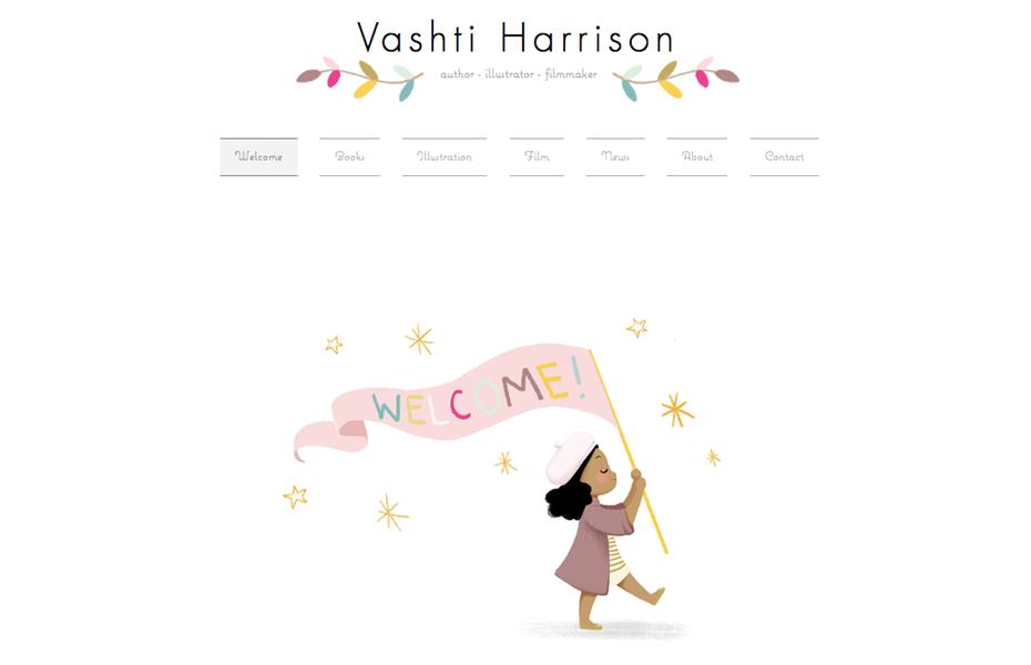 """портфолио графического дизайнера: веб-сайт портфолио Vashti Harrison """"width ="""" 1025 """"height ="""" 661 """"/>    <figcaption> Приглашающий иллюстративный веб-сайт портфолио Vashti Harrison </figcaption></figure> <p> New York Times бестселлер Автор-иллюстратор Вашти Харрисон использует свои иллюстрации и дизайн шрифтов, чтобы продемонстрировать свой стиль, давая вам четкое представление о том, о чем она с первого взгляда. Примечательна своей детской книгой «Маленькие лидеры: смелые женщины в черной истории», она ловко приводит некоторых своих персонажей. в ее портфолио на главной странице и в заголовках. </p> <h2><span id="""