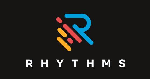 """Дизайн логотипа приложения Rhythms """"width ="""" 505 """"height ="""" 267 """"/>    <figcaption> Разработка логотипа ks_projekt для Rhythms. </figcaption></figure> <p> У некоторых компаний есть название, которое играет участие в объяснении бизнеса и не требует чрезмерно разработанного логотипа. В приведенном выше примере название «Ритмы» помогает пользователю понять, что это приложение для создания ритма. В этом случае дизайнер заполнил бланки с цветными геометрическими пунктирными линиями. Эти элементы помогают донести идею, что в них присутствуют треки и ритм. В конечном счете, дизайн довольно хорошо показывает пользователю, что он загружает. </p> <figure data-id="""