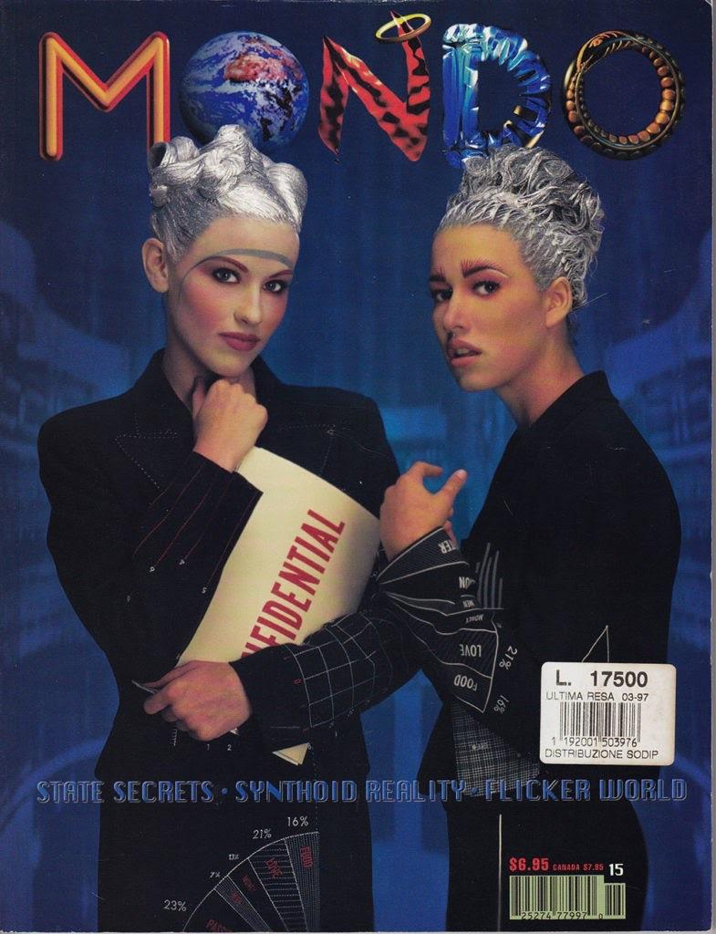 "Журнал Mondo 2000 ""width ="" 785 ""height ="" 1024 ""/>    <figcaption> Обложка журнала Mondo 2000 от Neon Dystopia </figcaption></figure> <h2><span id="