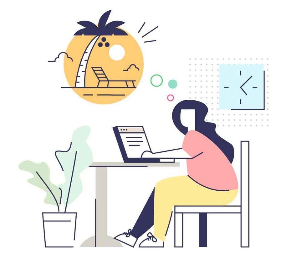 """Иллюстрация женщины, работающей за столом с пузырем мысли """"width ="""" 968 """"height ="""" 896 """"/>    <figcaption> Иллюстрация ложкой lancer </figcaption></figure> <p> Держите рабочее место в чистоте и беспорядок В опросе, проведенном OfficeMax, 77% респондентов заявили, что беспорядок ухудшает их производительность, и более половины опрошенных сказали, что это также отрицательно влияет на их уровень мотивации и настроение. </p> <blockquote class="""