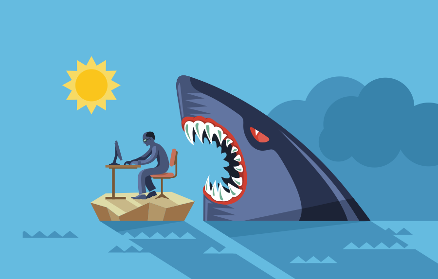 """Иллюстрация человека, работающего за столом на острове с акулой позади него """"width ="""" 900 """"height ="""" 574 """"/>    <figcaption> Иллюстрация Анны </figcaption></figure> <p> Границы, о которых мы говорили о более ранних версиях может помочь свести к минимуму отвлечение внимания. Рассматривайте проверку своей электронной почты только по установленному времени в течение дня. Не оставляйте открытую программу обмена сообщениями или электронную почту, потому что, как только вы увидите новые сообщения, я гарантирую, что вы собираетесь хотите проверить их. Это может легко привести к тому, что вы проведете целый день, играя в догонялки и постоянно переходя от одного запроса к другому, не имея возможности сосредоточиться на своих приоритетах. </p> <p> Мой взлом номер один — отключить push-уведомления и звуки на компьютере и телефоне. Все эти маленькие звуки и всплывающие окна могут показаться не слишком отвлекающими, но они отвлекают вас на секунду, и этого достаточно, чтобы потерять фокус. Это может помочь выключить ваш телефон или поместить его в другую комнату — если вам это не нужно для работы, в этом случае просто отключите ваши приложения для социальных сетей. </p> <p> Если ваша рабочая среда шумная, наушники с шумоподавлением могут обеспечить мгновенное спокойствие и фокус. Я пользуюсь своим ежедневно, и я не могу жить без них. </p> <p> Существует множество приложений, которые могут помочь избежать отвлекающих факторов, блокируя определенные отнимающие время сайты — Instagram, Facebook, Reddit, как вы их называете. Если вы не доверяете этим веб-сайтам, воспользуйтесь таким приложением, как Freedom или Limit, чтобы заблокировать их. </p> <p> Грязное рабочее пространство также может отвлекать, поэтому постарайтесь, чтобы в вашем окружении не было беспорядка. Если вы чувствуете, что грязная посуда в раковине отвлекает вас слишком сильно, чтобы что-то сделать, продолжайте мыть их. Если вы не можете работать в загроможденной комнате, сделайте уборку. Но будьте осторожны, чтобы """