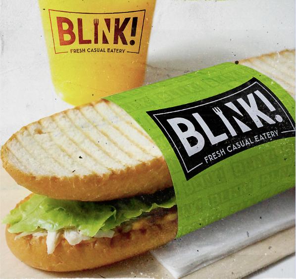 "Логотип продуктового брендинга: Blink! ""Width ="" 598 ""height ="" 564"