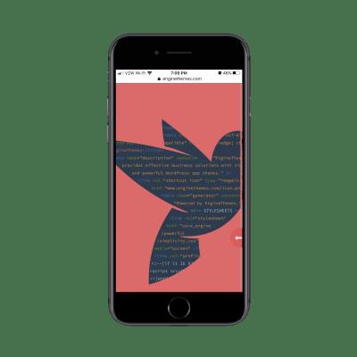 EngineThemes скрытое сообщение для мобильных посетителей