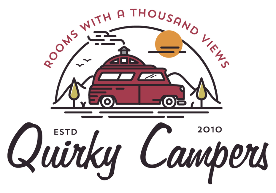 Логотип Quirky Campers