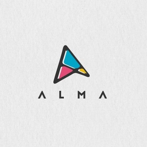 Абстрактный логотип цифрового маркетинга