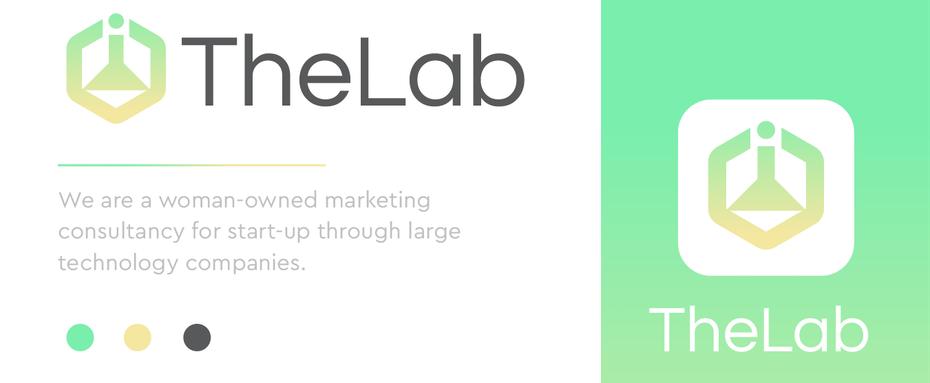 """Символический цифровой маркетинговый логотип с неоновым градиентом """"width ="""" 1351 """"height ="""" 557"""