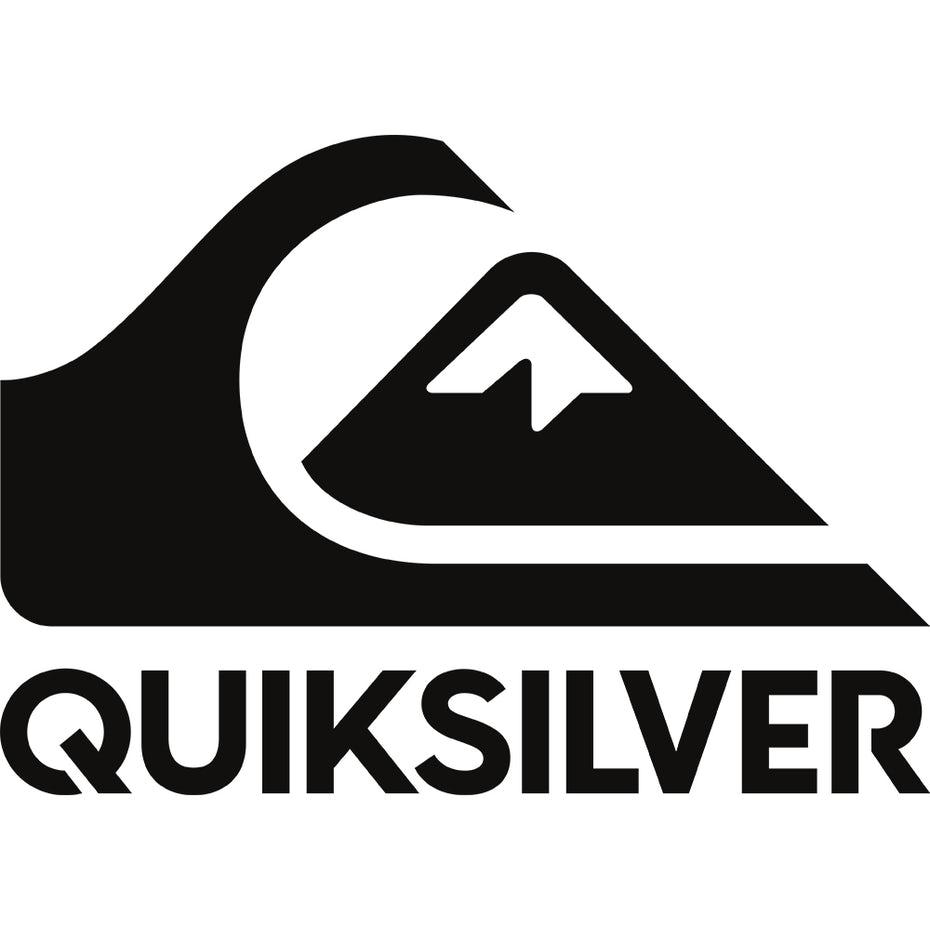 черно-белый логотип Quiksilver