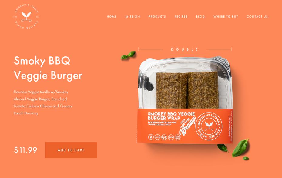 """Сплошной цветной фон веб-сайта для веганской кухни """"width ="""" 1890 """"height ="""" 1192"""