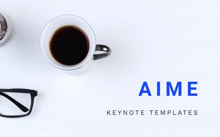 AIME Keynote шаблоны