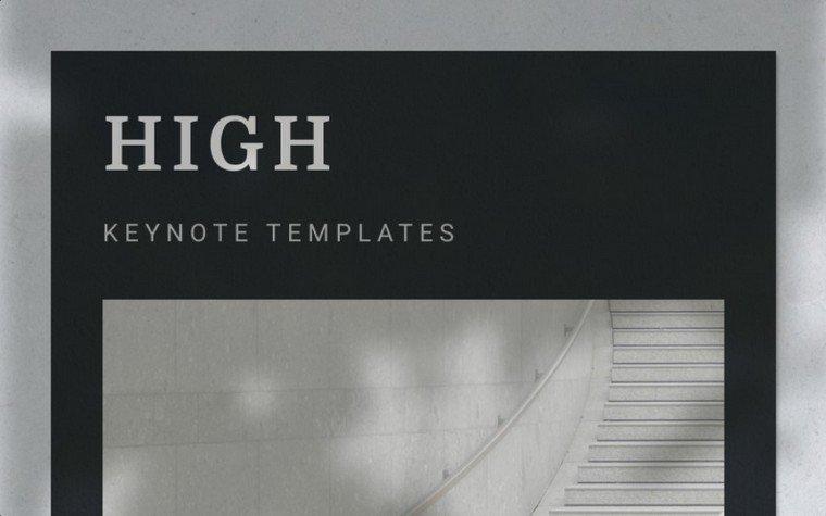HIGH Keynote