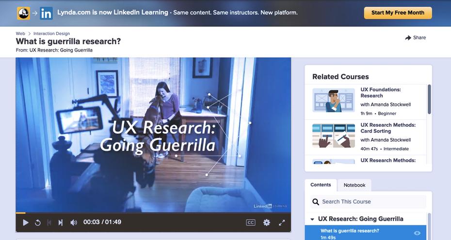 """Снимок экрана учебных пособий по веб-дизайну Lynda.com """"width ="""" 1188 """"height ="""" 631 """"/>    <figcaption> через Lynda.com </figcaption></figure> <p> <strong> О Lynda </strong> </p> <p> Lynda.com, приобретенная LinkedIn Learning, использует более структурированный академический подход в своих учебных пособиях по веб-дизайну. У них широкий ассортимент тем, охватывающих веб-разработку, кодирование и бизнес-аспекты создания веб-сайта, и они разбивают свои курсы на отдельные темы, чтобы вы могли комбинировать их при необходимости. </p> <p> Lynda.com также является отличным местом, чтобы узнать, как использовать определенные инструменты веб-дизайна, такие как Dreamweaver CC или Adobe Animate CC, а также некоторые платформы для создания сайтов, такие как Shopify или Wix. Его структура, похоже, создана для людей, которые знают, что они хотят изучать. </p> <p> <strong> Особенности: </strong> </p> <ul> <li> Веб-разработка </li> <li> Программное обеспечение для веб-дизайна </li> <li> Инструкция по созданию сайта </li> <li> UX Design </li> <li> Методы веб-дизайна </li> </ul> <p> <strong> Цена: </strong> </p> <ul> <li> 29,99 долл. США в месяц (19,99 долл. США в месяц, оплачиваемые ежегодно) </li> <li> 1-месячная бесплатная пробная версия </li> </ul> <p> <strong> Рекомендуется для: </strong> </p> <ul> <li> Учащиеся, имеющие в виду конкретные темы </li> <li> Дизайнеры, которые хотят изучить определенный инструмент проектирования или платформу </li> </ul> <h3><span id="""