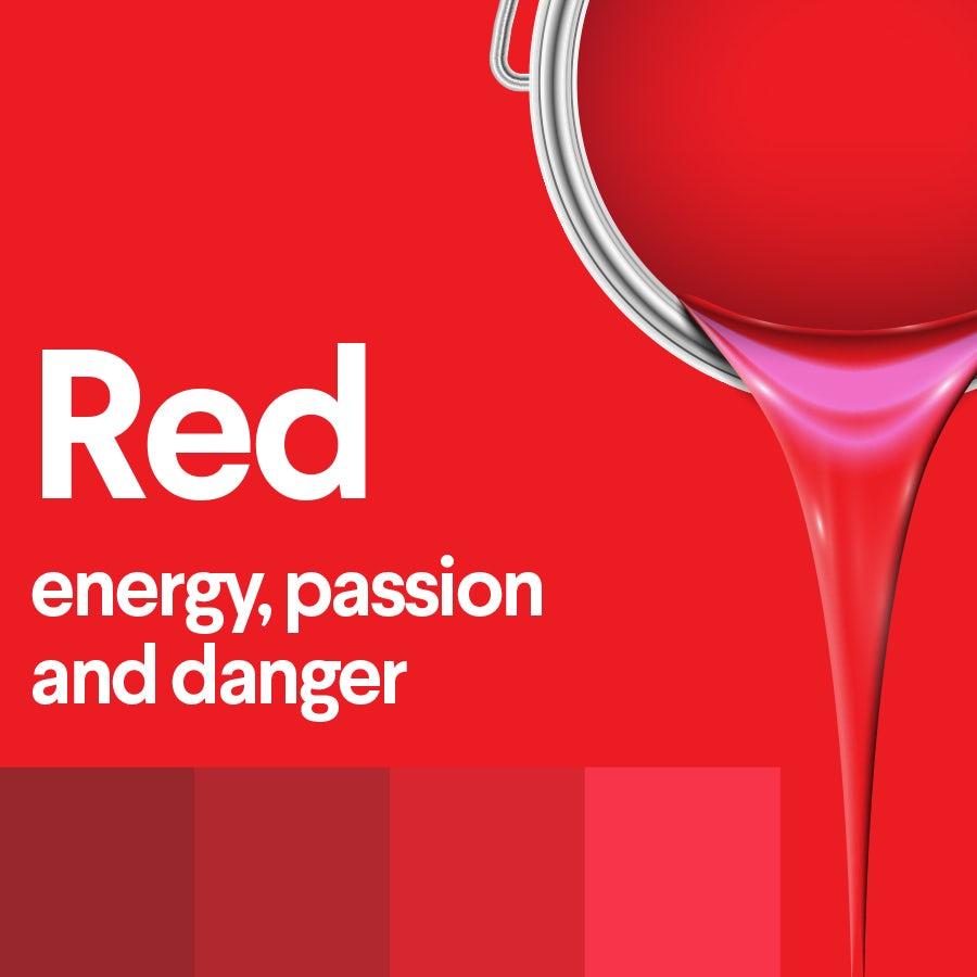Что означает красный: психология цвета красного