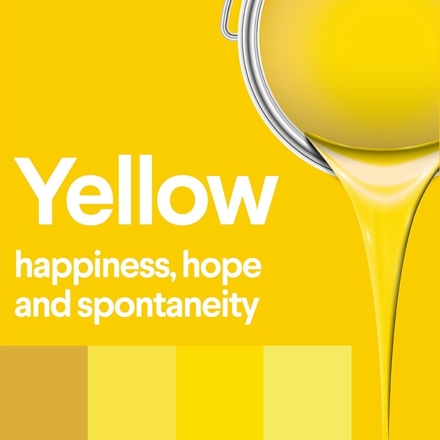 Что означает желтый: психология цвета желтого цвета