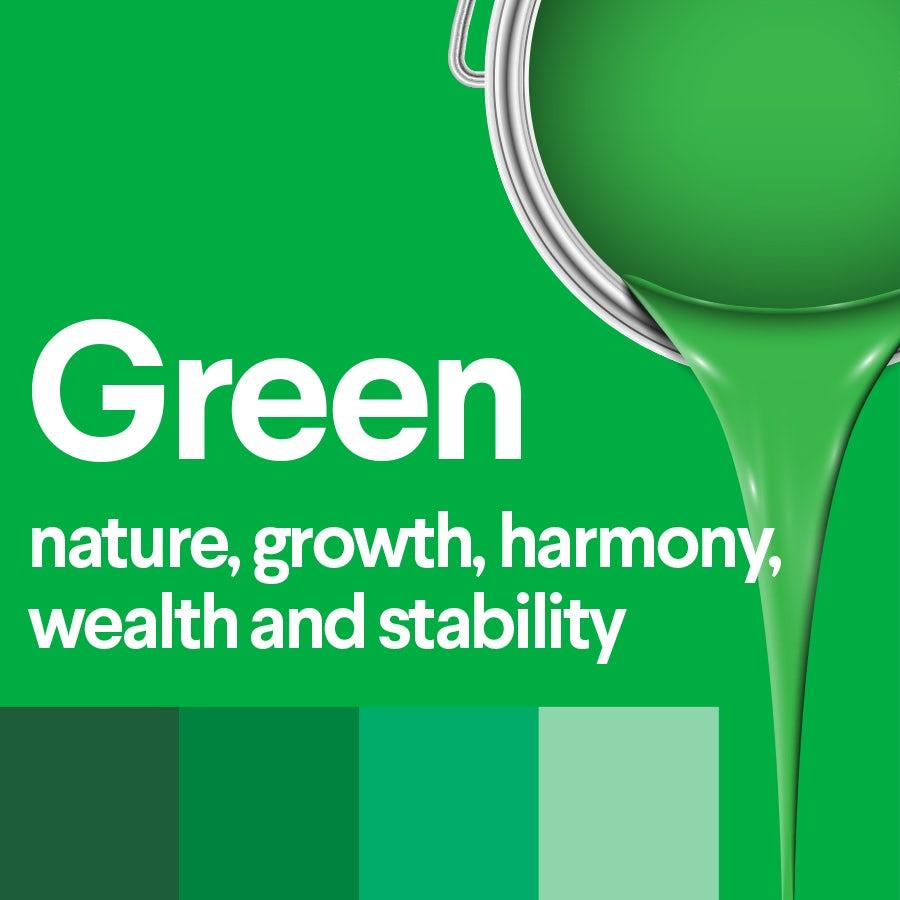 Что означает зеленый: психология цвета зеленого