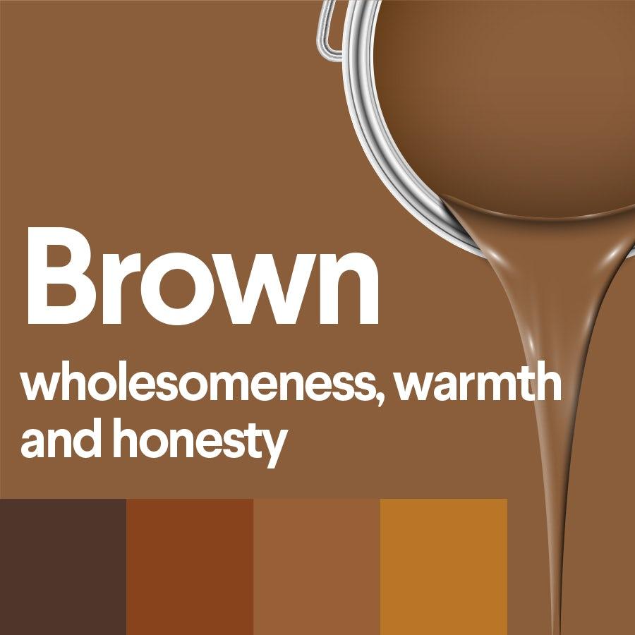 Что означает коричневый: психология цвета коричневого
