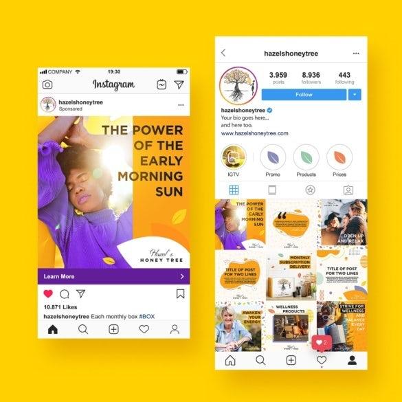 """Профиль в Instagram и дизайн рекламного контента """"width ="""" 585 """"height ="""" 585 """"/>    <figcaption> Эта серия рекламных роликов в Instagram больше ориентирована на поддержание узнаваемости бренда посредством последовательных образов, цветов, форм и сообщений бренда. Дизайн JayJacks0n ™. </figcaption></figure> <ul> <li> Информировать: установить узнаваемость бренда или продукта </li> <li> Убедить: увеличить доход за счет конверсии клиентов </li> <li> Напомним: держать бренд в центре внимания потребителей </li> </ul> <p> Хотя реклама стоит денег, прямые продажи не всегда являются основной целью рекламы. Существует множество путей увеличения доходов, некоторые из которых прямо косвенные. Например, объявление может убедить зрителя нажать кнопку CTA и совершить покупку или сообщить о продукте, чтобы они помнили марку при покупке в будущем. Кроме того, не все конверсии стоят одинаковой суммы: некоторые конвертированные клиенты могут стать постоянными, а другие могут купить только один раз. </p> <p> В конечном счете, все это означает, что бренд может не воспользоваться всеми преимуществами цифровой рекламы намного позже, что может затруднить оценку того, насколько успешно рекламная кампания достигла своих целей. Такие показатели, как конверсия продаж, могут помочь вам измерить убедительность, но другие показатели, такие как просмотры, показы или рейтинг кликов, могут дать вам представление о том, вызывает ли ваше объявление резонанс — то есть люди обращают внимание на ваш бренд и будут ли они помните это? </p> <h2><span id="""