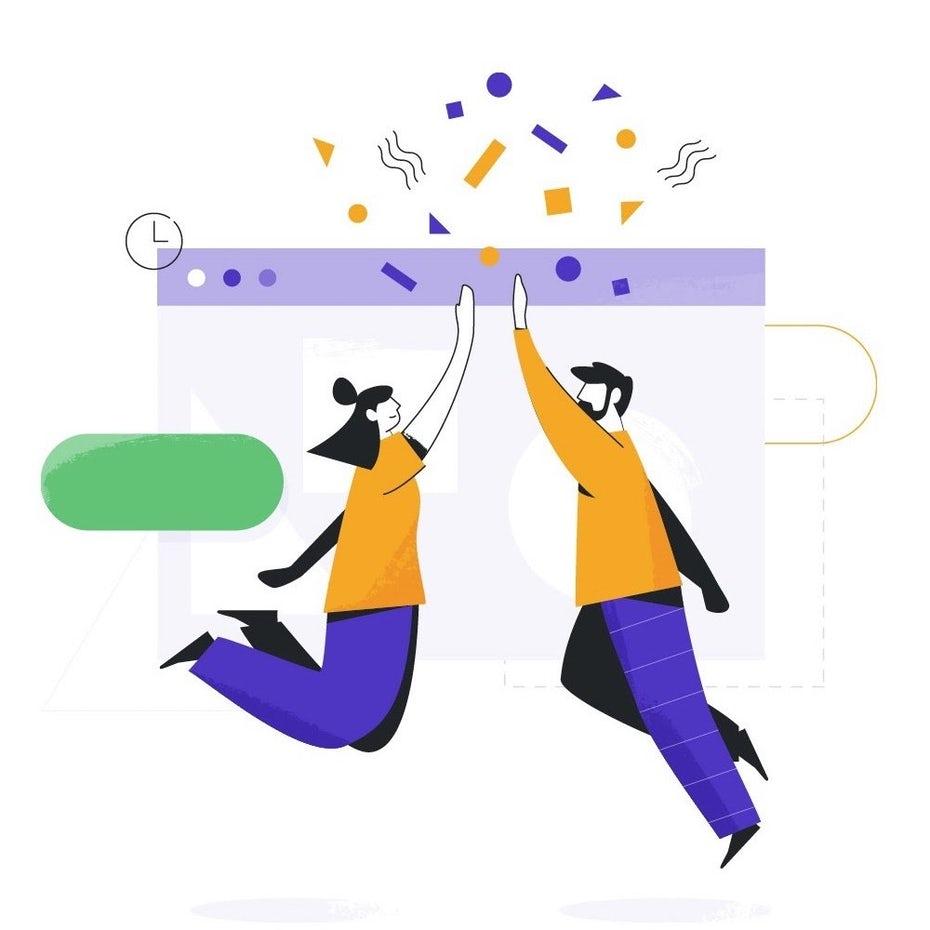 """Иллюстрация с абстрактными символами, делающими высокие пять над интернет-браузером """"width ="""" 1000 """"height ="""" 1000 """"/>    <figcaption> Коммуникация и работа в команде являются ключом к успешной рекламной кампании. Иллюстрация по ложке lancer. </figcaption></figure> <p> С вашей стратегией, бюджетом и графиком у вас должна быть прочная основа для руководства процессом производства. Ранее вы составляли общий документ кампании, но теперь вам нужны дополнительные, более конкретные инструкции за каждый аспект вашей рекламной кампании, переданный ответственным сторонам. </p> <p> Например, копирайтер должен иметь краткое изложение, которое описывает количество слов, целевые ключевые слова, цели обмена сообщениями и т. Д. Между тем, дизайнеру требуется творческое резюме, в котором указывается размер холста, цветовые ограничения рекламы, целевая аудитория, ссылки на дизайн и т. на. </p> <p> Существует множество вариантов найма подрядчиков, но когда дело доходит до поиска графических дизайнеров, креативная платформа, такая как 99designs, отлично подходит для быстрого и легкого поиска талантов. Платформа предоставляет вам доступ к глобальному пулу профессиональных дизайнеров и креативщиков, так что вы сможете легко найти подходящий вариант для ваших нужд и бюджета. Не говоря уже о преимуществах наличия безопасного пространства для проекта для гибкого выставления счетов, связи и безопасных платежей. </p> <p> После того, как вы соединились с талантом и делегировали соответствующие задания, работайте с креативами, чтобы сохранить проекты в соответствии с графиком. Предлагайте регулярные отзывы, чтобы убедиться, что кампания идет так, как вы себе представляли. Мы рекомендуем протестировать рекламу на некоторых зрителях, чтобы у вас было время включить их отзывы, пока не стало слишком поздно. При необходимости обязательно консультируйтесь и корректируйте свой график регулярно, когда возникают проблемы. </p> <h3><span id="""